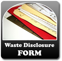 Waste Disclosure Form